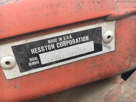 1989 Hesston 8200 - Grossenburg Implement