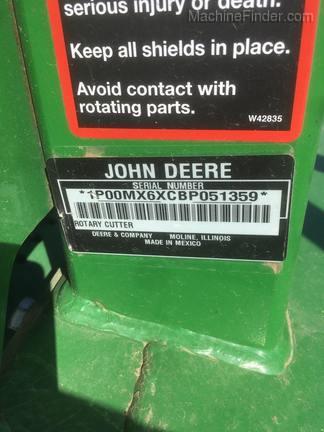 2011 John Deere MX6 - Grossenburg Implement